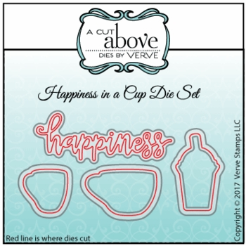 Happiness in a Cup Die Set