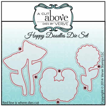 Happy Doodles Die Set