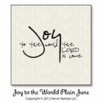 Joy to the World Plain Jane