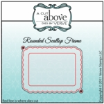 Rounded Scallop Frame Die