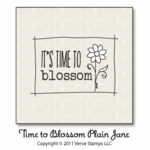 Time to Blossom Plain Jane