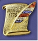 Declaration of Independence Pin