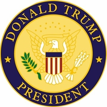 Donald Trump President Lapel Pin