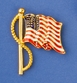 Enamel Flag Pin