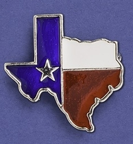 Lone Star Lapel Pin
