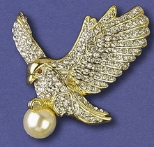 Magnificent Eagle Pin
