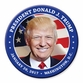 President Donald Trump Button