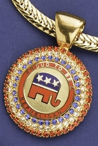 Proud to be a Republican Crystal Neckslide