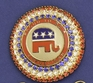 Proud To be a Republican Crystal Pin
