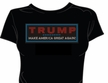 Rhinestone Make America Great Again T-Shirt