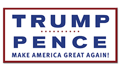 TRUMP PENCE Bumper Sticker