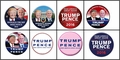 Trump Pence Buttons - 100 Pack