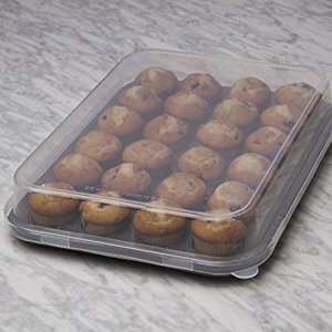24 Cup Mini Muffin Pan with Lid