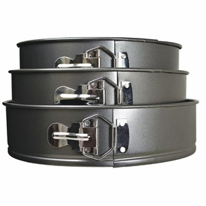 3pc Springform Pan Set