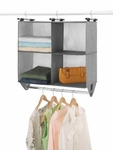 4 Section Closet Organizer