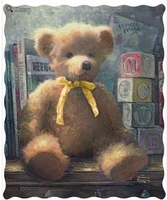 A Trusted Friend Teddy Bear Throw