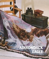 Adirondack Eagle Tapestry Throw