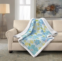 Alana Quilted Sherpa Throw