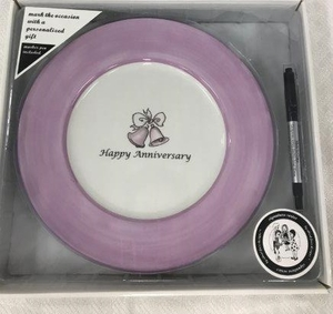 Anniversary Mark the Occasion Plate