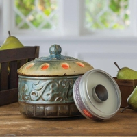 Azure Scroll Candle Aire Fragrance Warmer