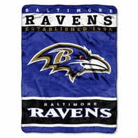 Baltimore Ravens NFL Team Blanket