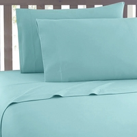 Super Soft 2100 Series Aqua Sky Sheet Set