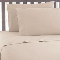 Super Soft 2100 Series Cream Sheet Set