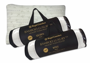 Bamboo Luxury Memory Foam Pillow