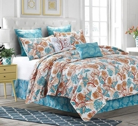 Beach Comber Deluxe Quilt Set by Sara Berrenson