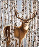 Birch Whitetail Luxury Blanket
