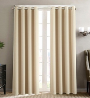Blackout Curtain Set:  Khaki
