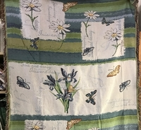 Blossoms of Grace Tapestry Blanket Queen