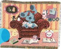 Blues Clues Tapestry Throw Blanket