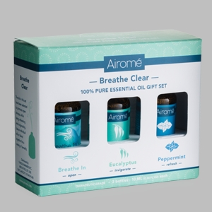 Breath Clear Essential Oils Gift Set