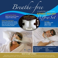 Breath Free Sleep Apnea CPAP Pillow Set