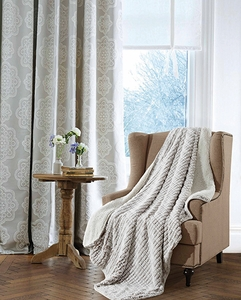 Carmel Ripple Sherpa Throw