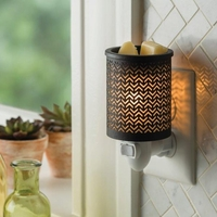Chevron Plug In Fragrance Warmer