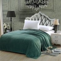 Classic Striped Blanket Hunter Green