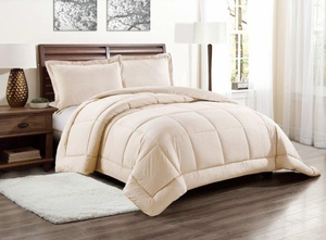 Dartmouth Down Alternative Comforter:  Mocha