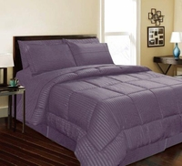 Dartmouth Down Alternative Comforter:  Plum