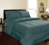Dartmouth Down Alternative Comforter:  Teal