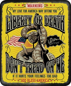 Don't Tread On Me Luxury Blanket