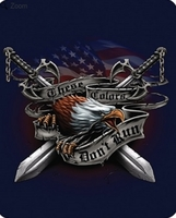 Eagle Honor Luxury Blanket