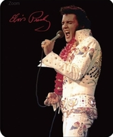 Elvis Aloha From Hawaii Luxury Blanket