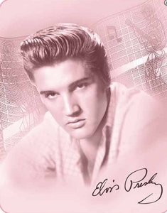 Elvis Graceland Luxury Blanket