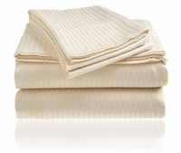 Embossed Sheet Set - Cream