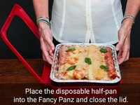 Fancy Panz 2 in 1 Foil Pan Carrier
