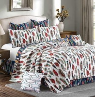 Feathers Deluxe Quilt Set by Sara Berrenson