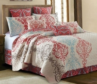 <font color=red>FEATURED Quilt Set:  Portofino</font color> (with FREE Sheet Set!)