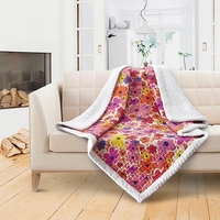 Finlanda Quilted Sherpa Throw
